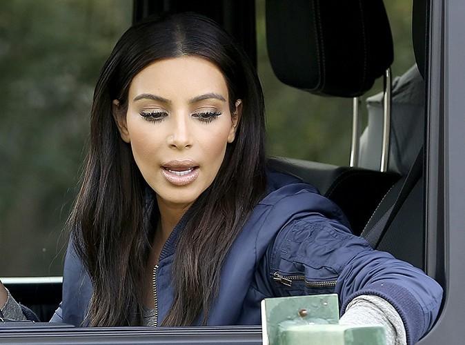 Kim Kardashian à Los Angeles le 11 février 2014