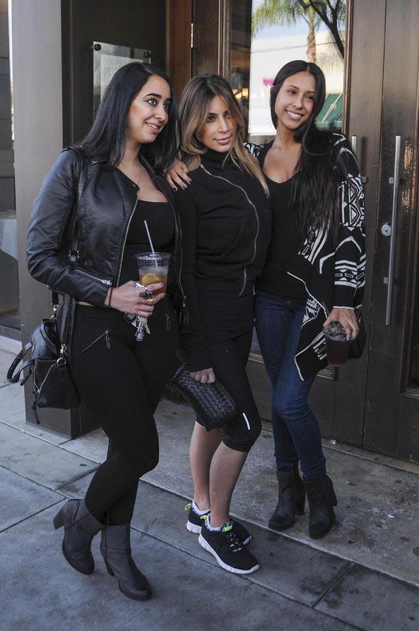 Kim Kardashian à Beverly Hills le 21 décembre 2013