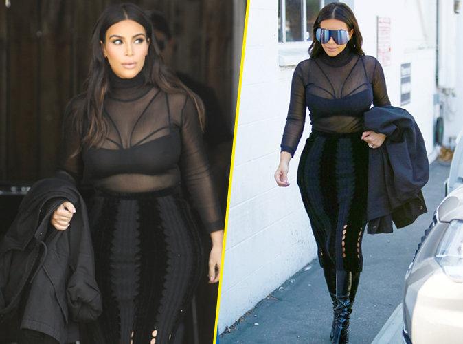 Photos : Kim Kardashian : plus que 10 kilos à perdre !