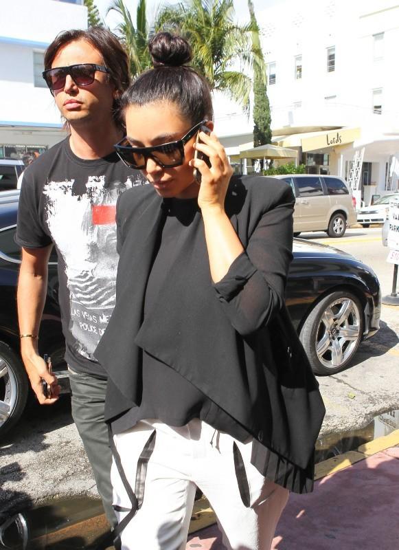 Kim Kardashian le 7 janvier 2013 à Miami