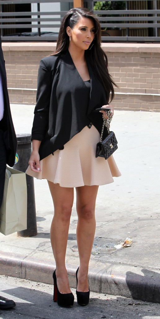 Kim Kardashian le 25 avril 2012 à New York