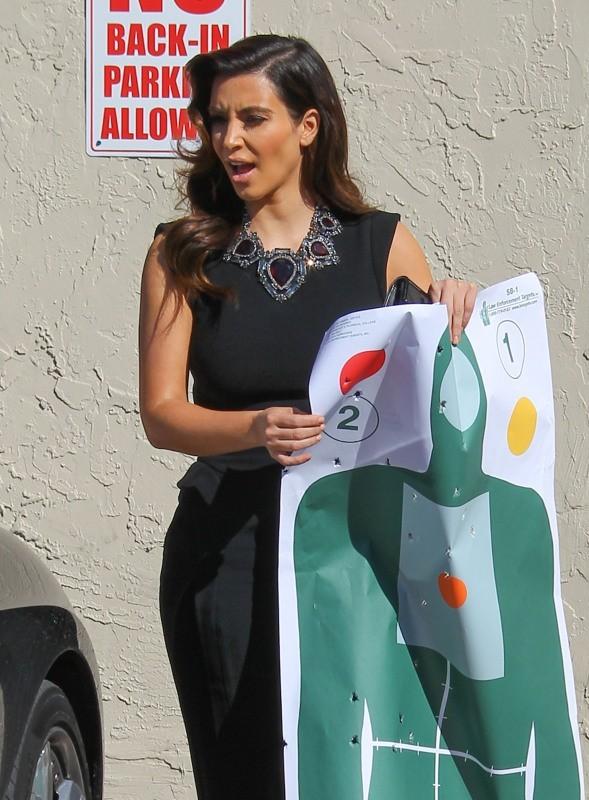 Kim Kardashian, Miami, 2 octobre 2012.