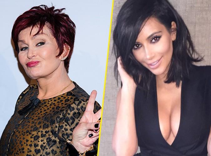 """Photos : Kim Kardashian : pour Sharon Osbourne """"North est son accessoire"""" !"""