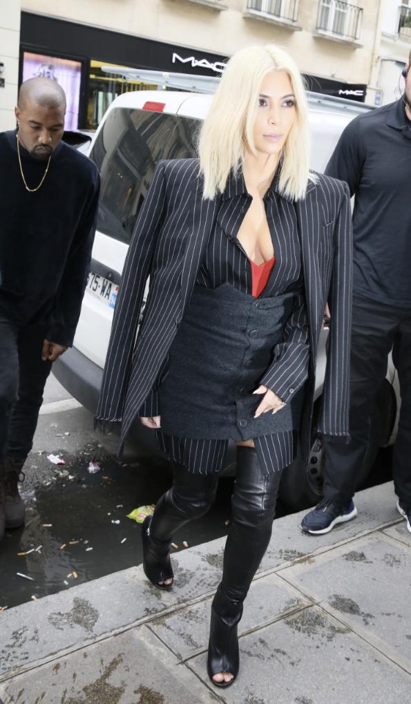 Kanye West le 9 mars 2015