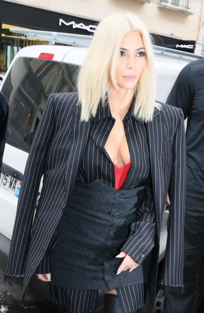 Kim Kardashian le 9 mars 2015