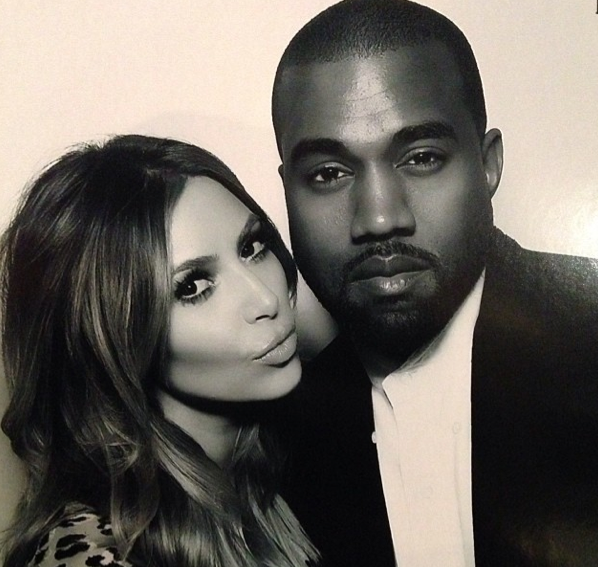 Kim et Kanye West