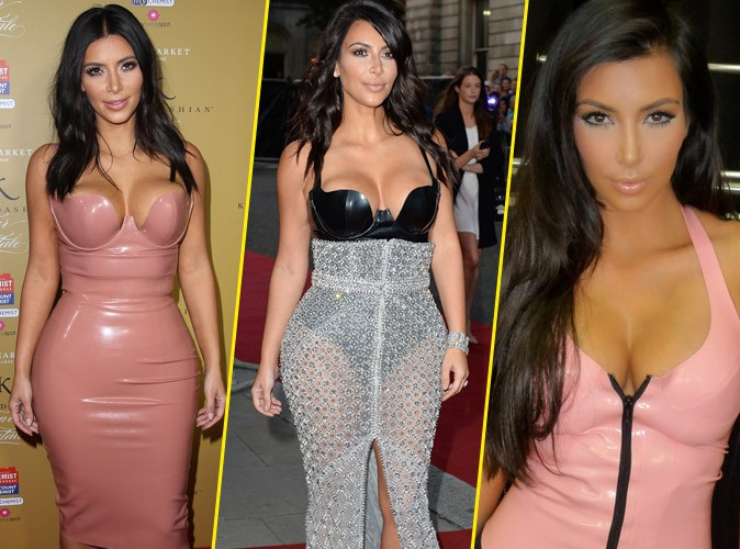 Kim Kardashian : reine du latex... Et ça ne date pas d'aujourd'hui !