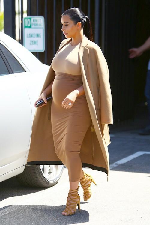 Photos : Kim Kardashian : retour à la sobriété pour la future First Lady !