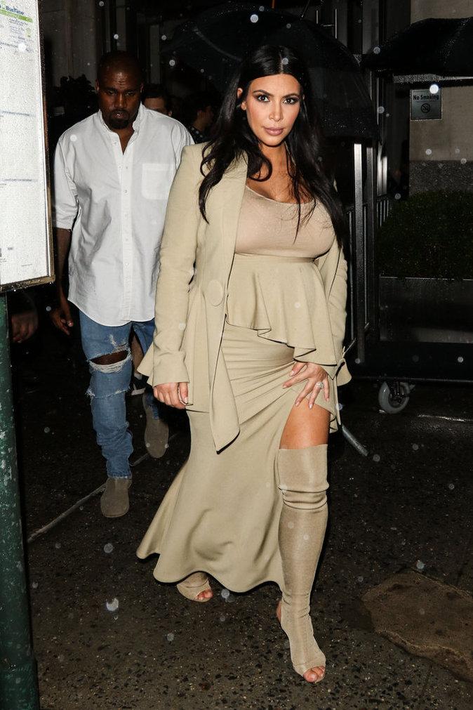 Photos : Kim Kardashian : retour sur ses looks de grossesse !