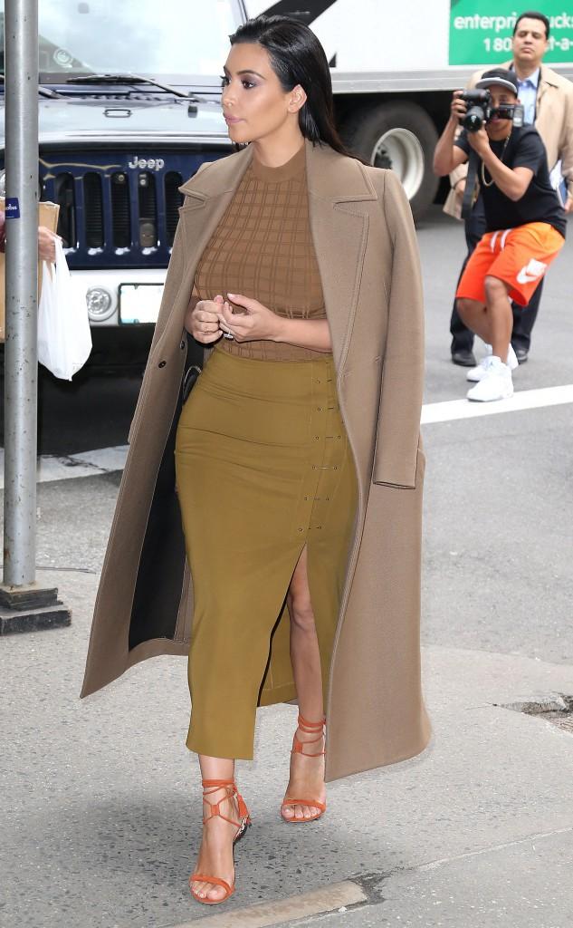 Kim Kardashian le 22 avril 2015