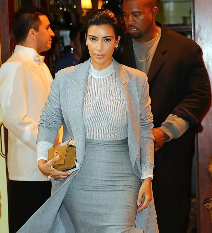 Kim Kardashian et Kanye West le 11 novembre 2014