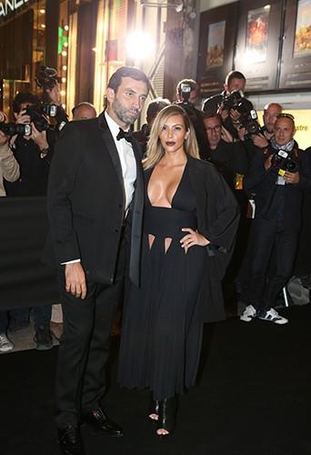 Kim Kardashian et Riccardo Tisci à Paris le 1er octobre 2013