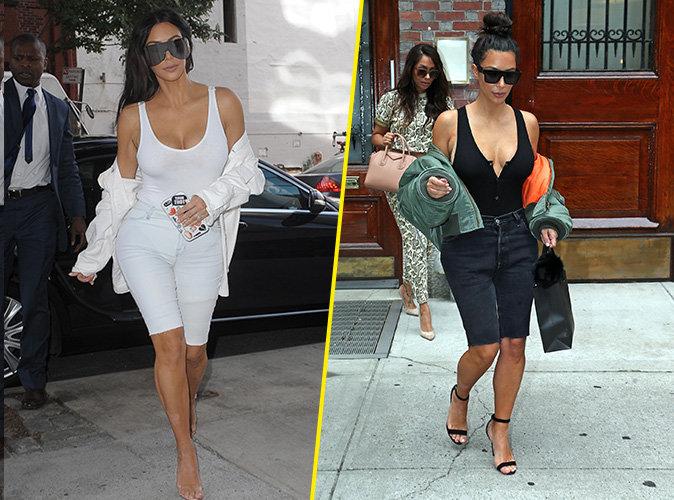 Photos : Kim Kardashian : Sa nouvelle lubie : Les jeans coupés !