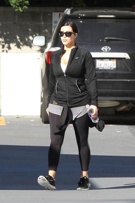 Kim Kardashian à Los Angeles, le 4 février 2013.