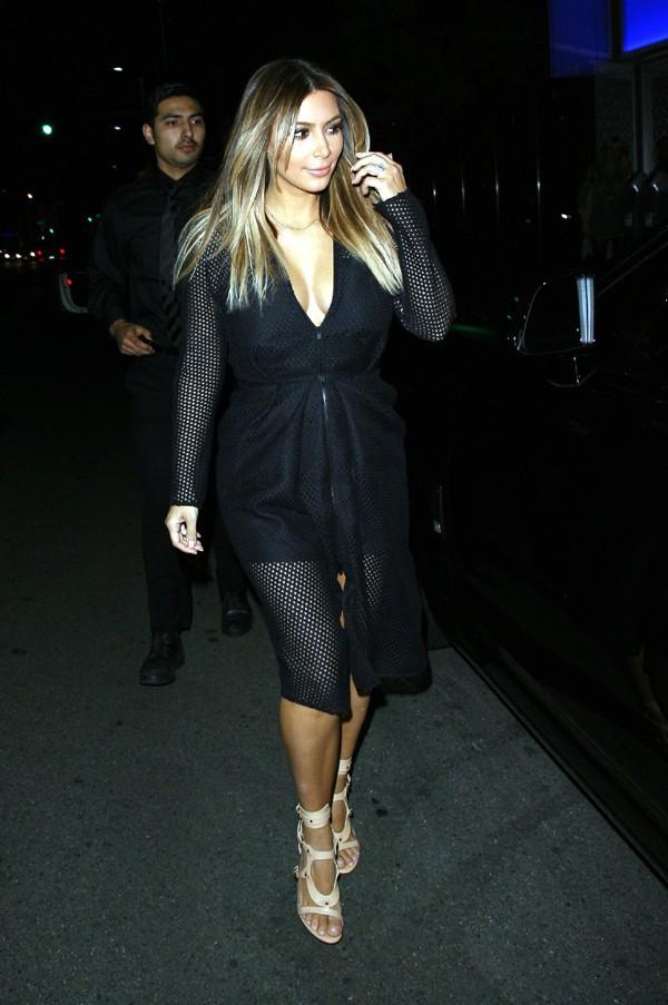 Kim Kardashian à Beverly Hills le 9 novembre 2013