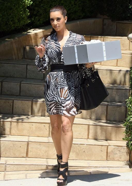 Kim Kardashian n'a pas lésiné pour faire plaisir à Mel B !