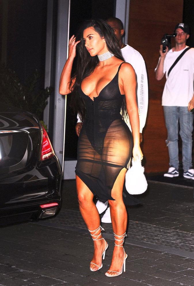 Kim Kardashian et Kanye West à Miami ce samedi 17 septembre