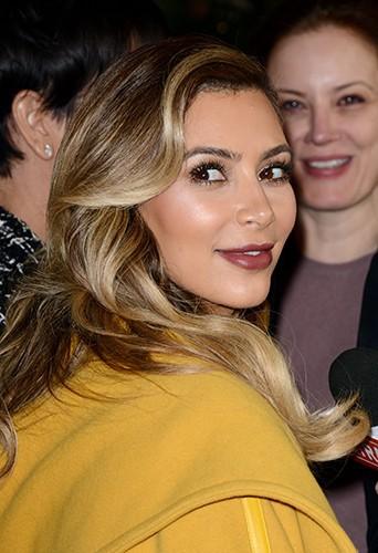 Kim Kardashian à Los Angeles le 11 décembre 2013