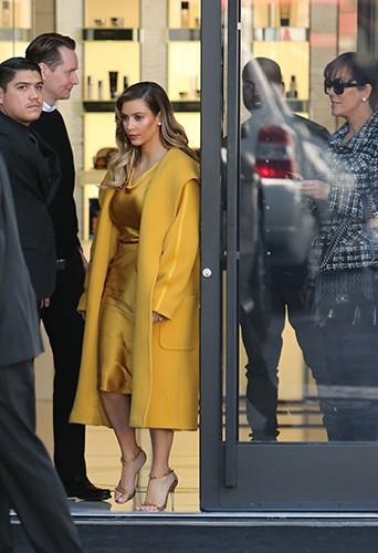 Kim Kardashian et Kanye West à Los Angeles le 11 décembre 2013