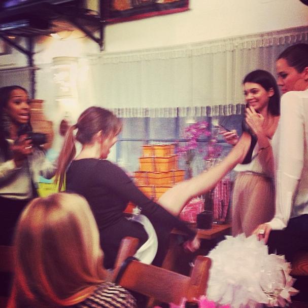 Le petit pas de danse de Miss Kardashian !