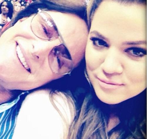 Bruce Jenner et Khloe Kardashian