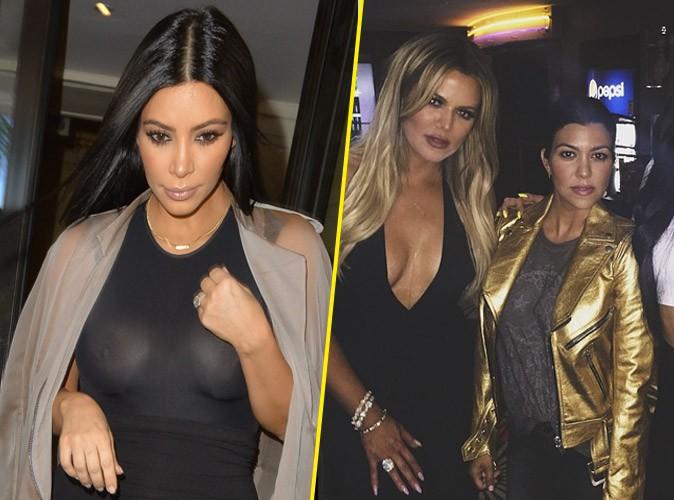 Kim Kardashian : t�tons de sortie pour les 31 ans de Khloe !