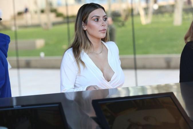 Kim Kardashian à Los Angeles le 10 janvier 2014