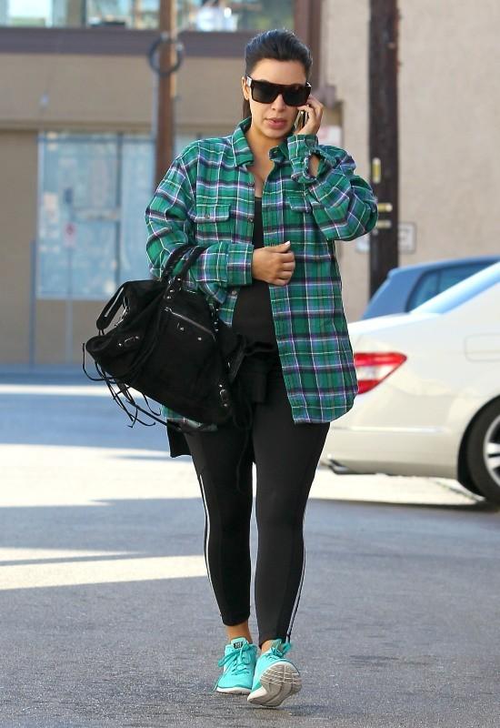 Kim Kardashian, Los Angeles, 28 février 2013.