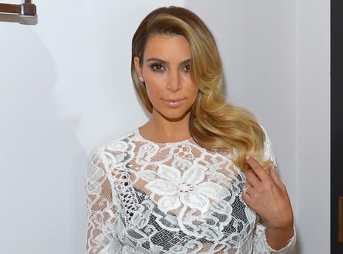 Kim Kardashian à Los Angeles le 30 octobre 2013