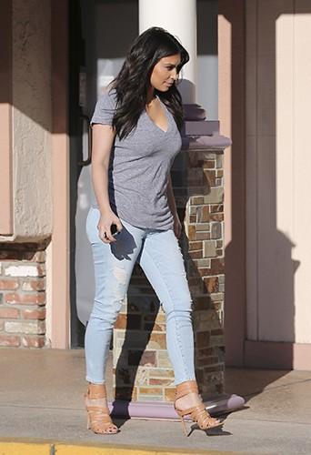 Kim Kardashian à Los Angeles le 20 mars 2014
