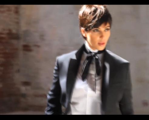 Kim Kardashian pour L'Uomo Vogue