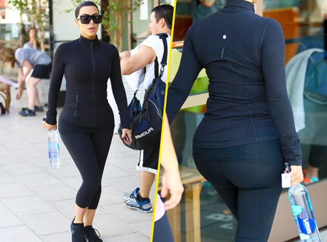 Kim Kardashian : un derri�re bomb� pr�t � se muscler !