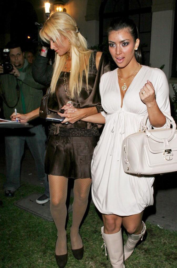 Paris Hilton et Kim Kardashian en 2006