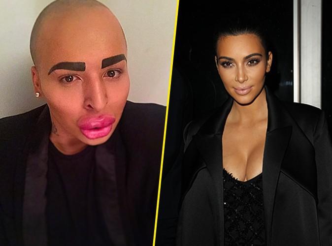 Kim Kardashian : un homme d�pense 150 000 dollars pour tenter de lui ressembler !