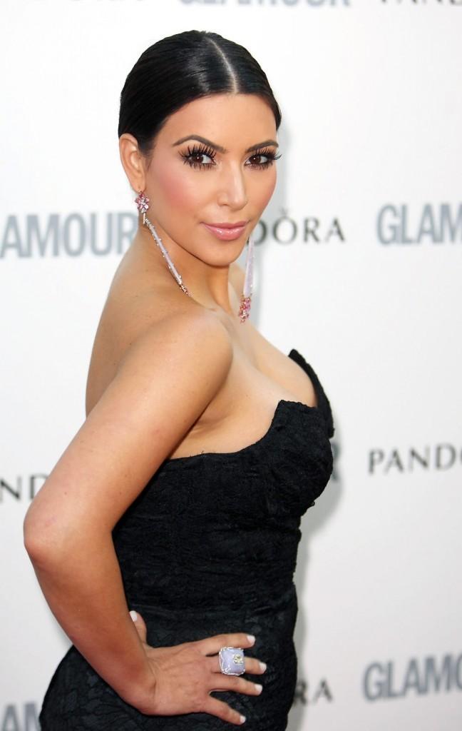 Kim Kardashian lors des Glamour Women of The Year Awards à Londres, le 7 juin 2011.