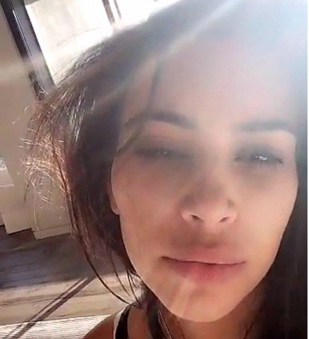 Kim Kardashian : Une maman pas tr�s fra�che !