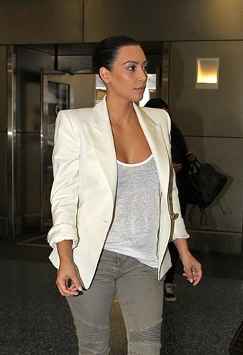 Kim Kardashian à Miami le 16 avril 2014