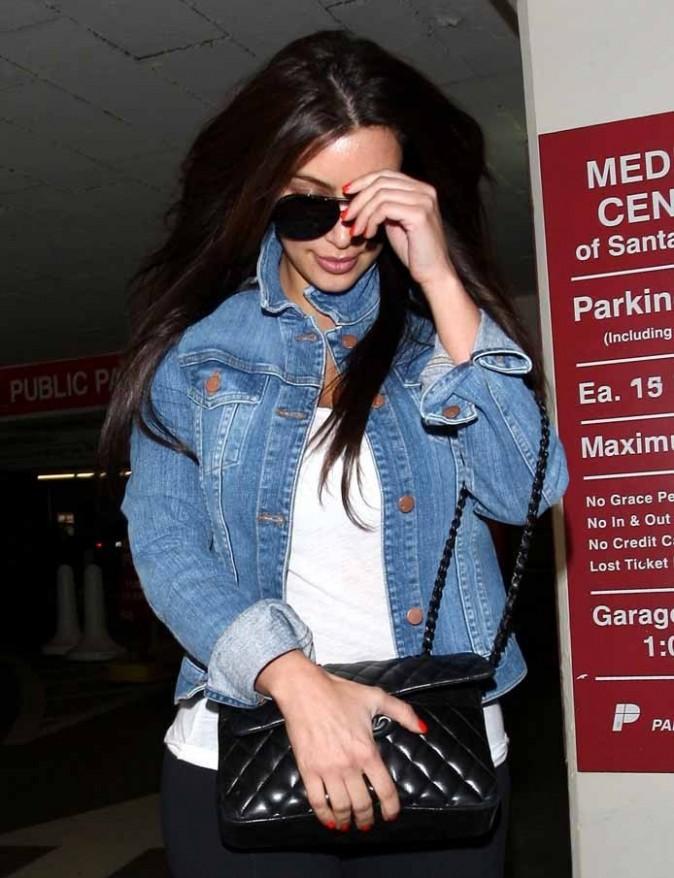Elle a sorti le sac Chanel pour aller à l'hôpital !