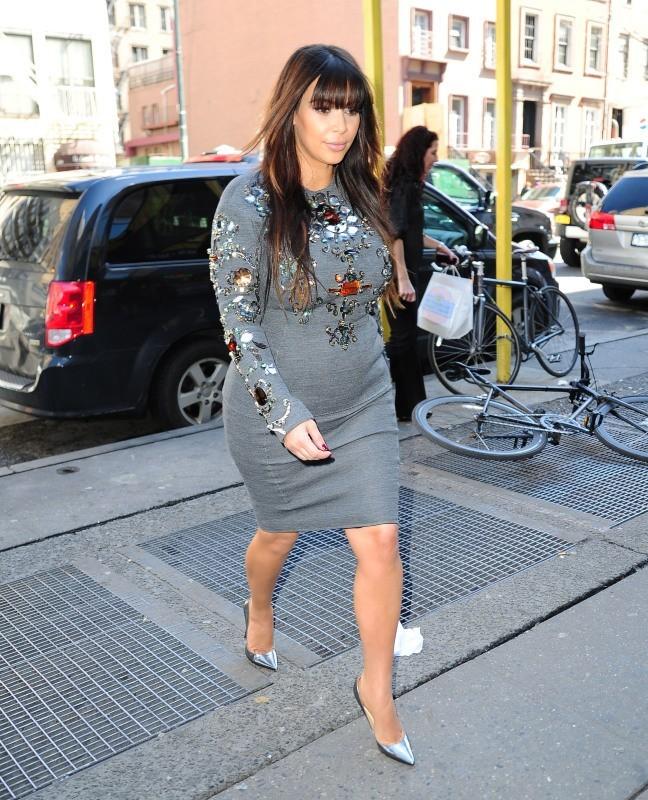 Kim Kardashian à New York, le 26 mars 2013.