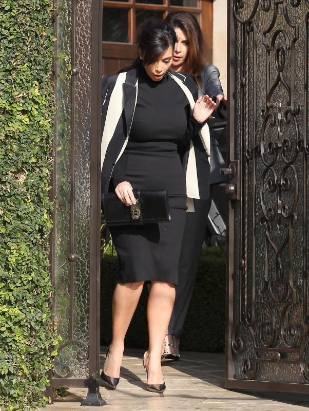 Kim Kardashian le 6 février 2013 à Los Angeles