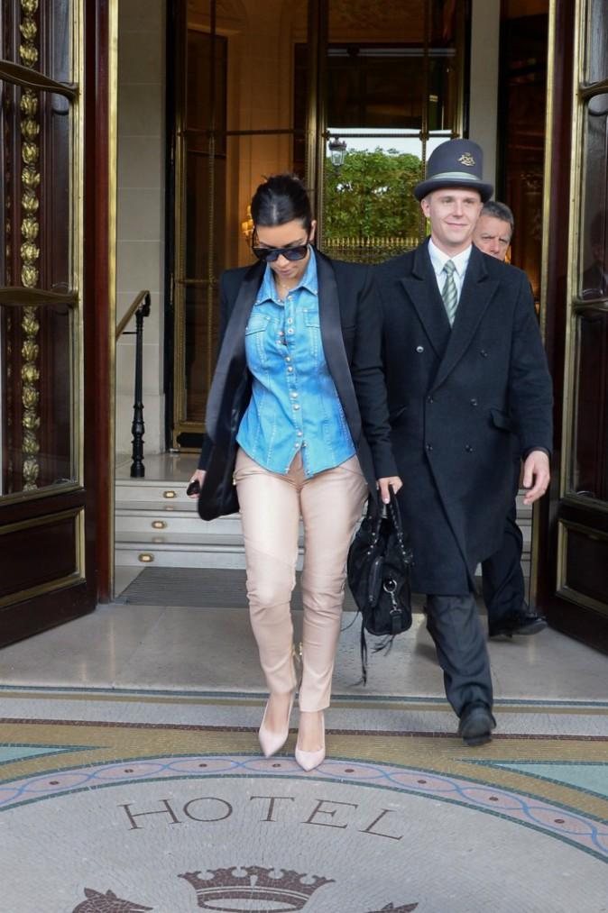 Photos : Kim Kardashian : une parisienne chicissime qui envisage de retomber enceinte juste après son mariage !