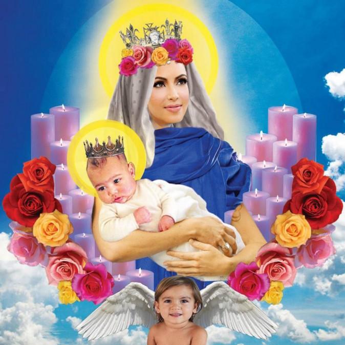 Photos : Kim Kardashian : une religieuse pas comme les autres !