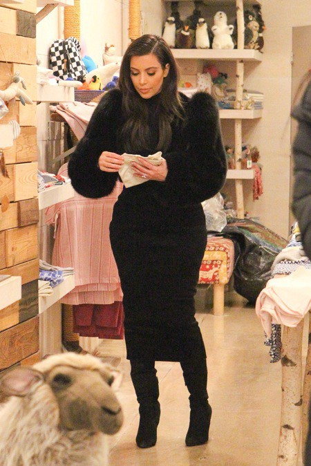Kim Kardashian à New York