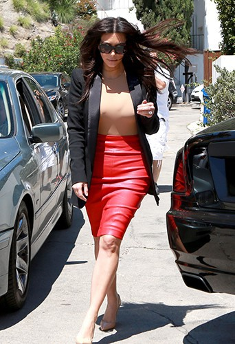 Kim Kardashian à Los Angeles le 2 mai 2014