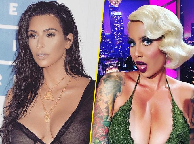 Kim Kardashian VS Amber Rose : quelle birthday girl est la plus trash ?