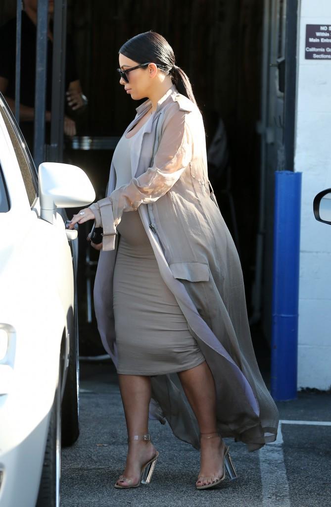 Kim Kardashian le 28 septembre 2015