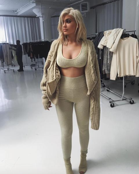 Kylie Jenner après le défilé Yeezy Saison 4, à New York le 7 septembre 2016