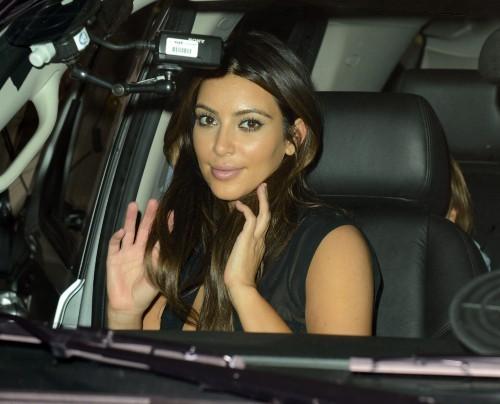 Kim Kardashian, Miami, 15 septembre 2012.