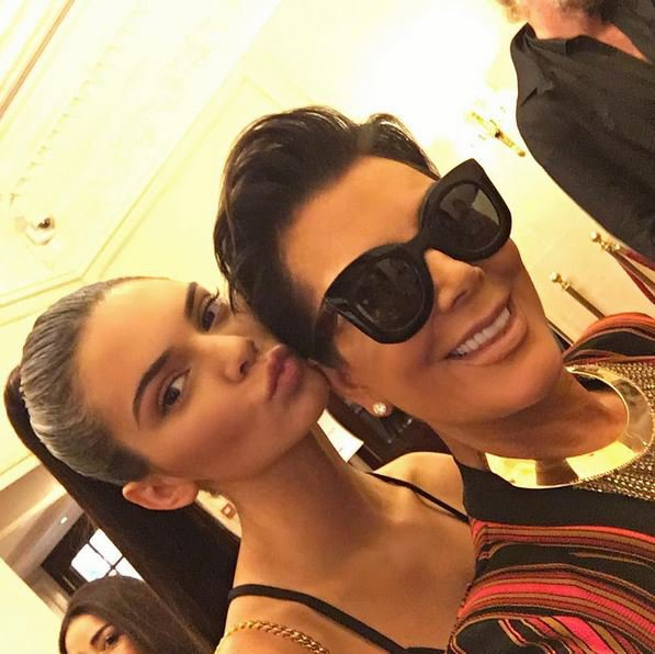 Kendall Jenner et Kris Jenner