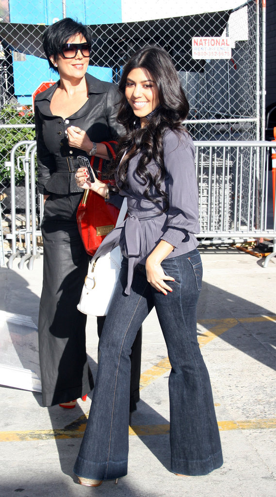Kris Jenner et Kourtney Kardashian